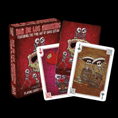 Day of the Dead Playing Cards - David Lozeau - Muertos - Day of the Dead