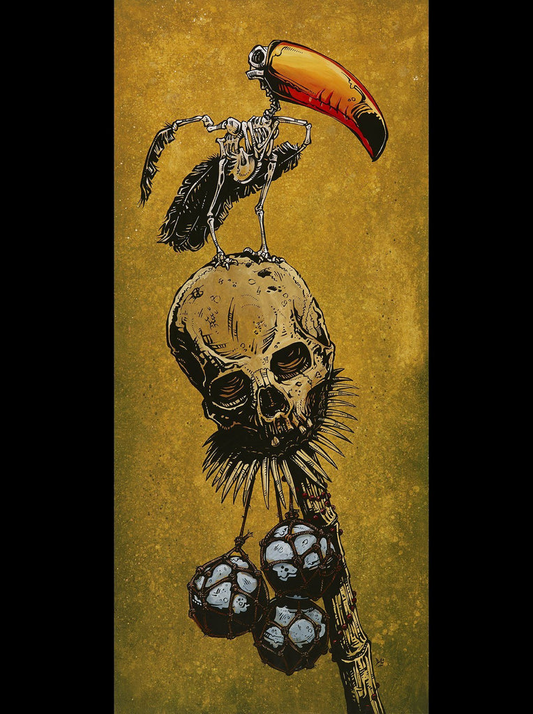 Jungle Perch - David Lozeau - Muertos - Day of the Dead