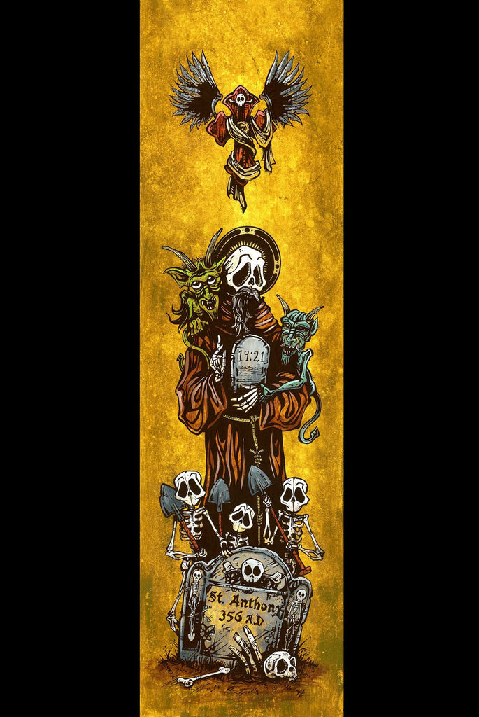 Saint Anthony - David Lozeau - Muertos - Day of the Dead