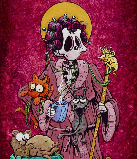 Saint Gertrude - David Lozeau - Muertos - Day of the Dead