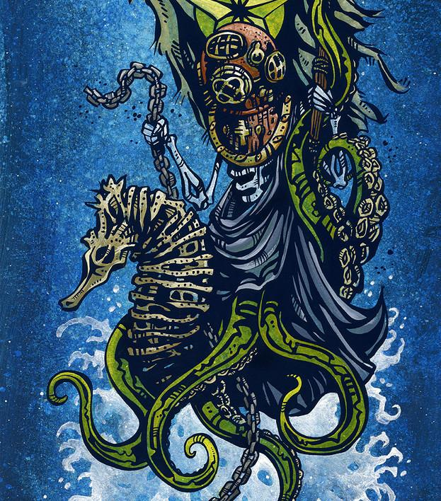 Saint Nicholas of the Sea - David Lozeau - Muertos - Day of the Dead
