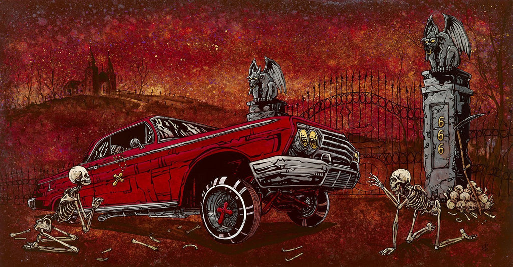 Slammed and Damned - David Lozeau - Muertos - Day of the Dead
