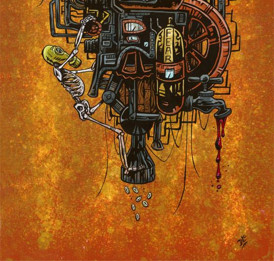 Supreme Machine - David Lozeau - Muertos - Day of the Dead