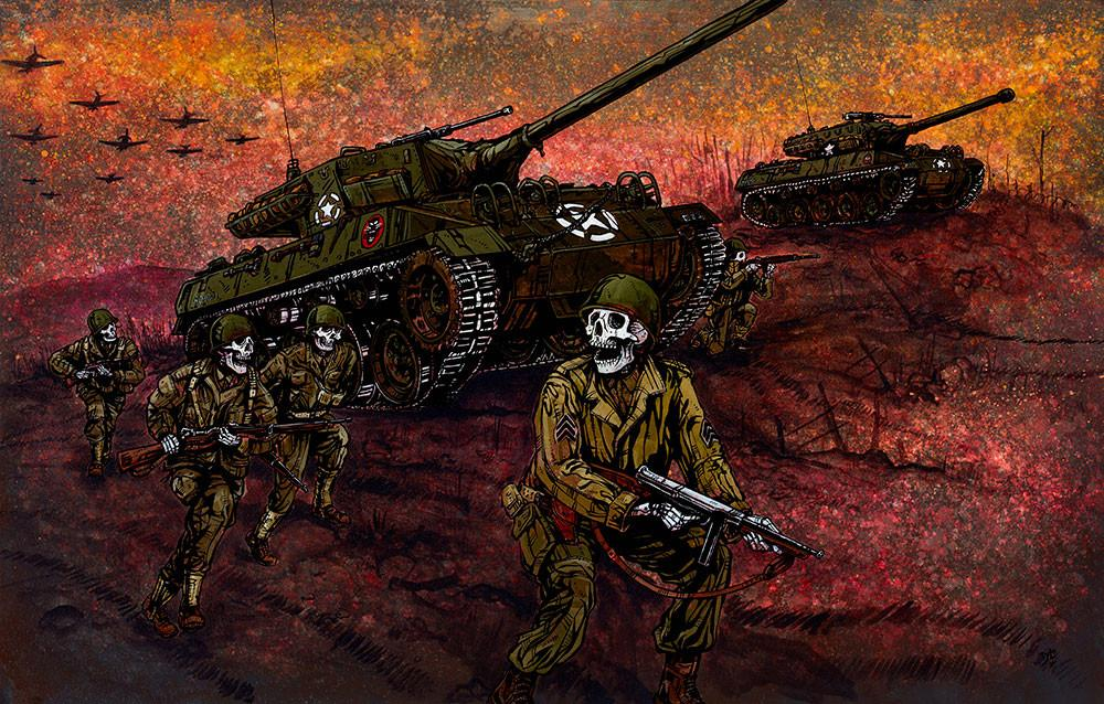 Tank Killers - David Lozeau - Muertos - Day of the Dead