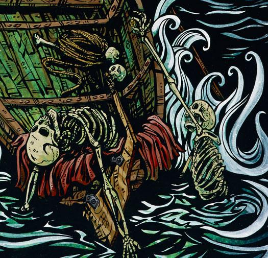 The Boatman on the River Styx - David Lozeau - Muertos - Day of the Dead