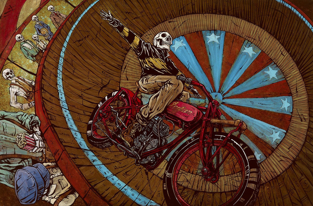 Wall of Death - David Lozeau - Muertos - Day of the Dead