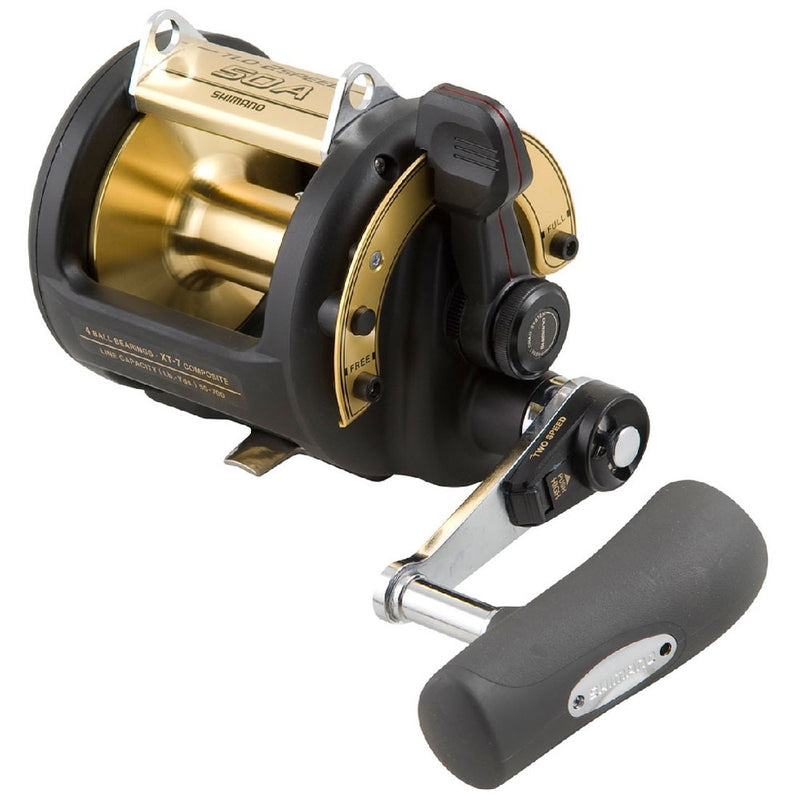 SHIMANO TLD 2 SPEED OVERHEAD REEL