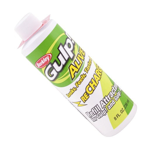 BERKLEY GULP ALIVE RECHARGE ATTRACTANT JUICE - 236ML