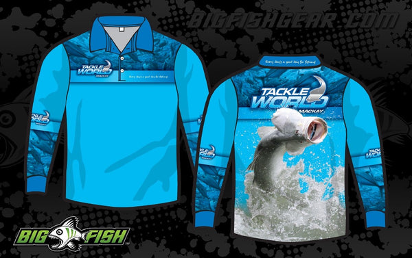 TACKLEWORLD BARRA LONG SLEEVED SUN SHIRT