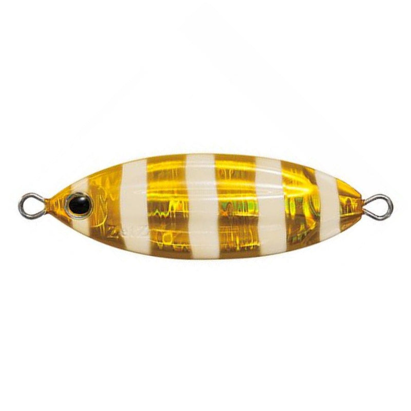 ZETZ SLOW BLATT CAST OVAL METAL LURES - WITH ASSIST HOOKS