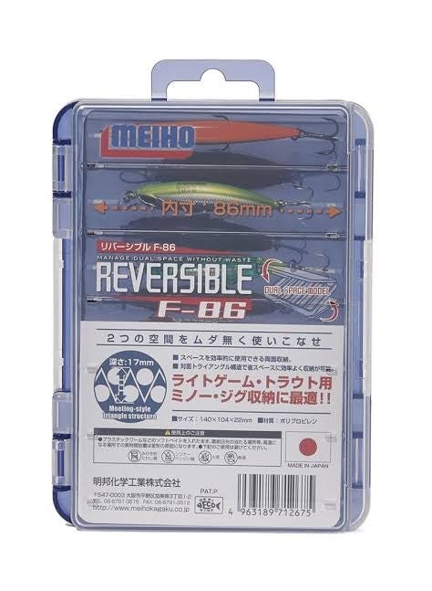 MEIHO REVERSIBLE F-86 TACKLE BOX