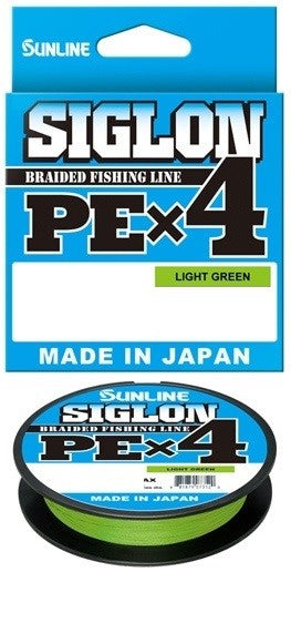 SUNLINE SIGLON PE4 300M BRAID - LIGHT GREEN