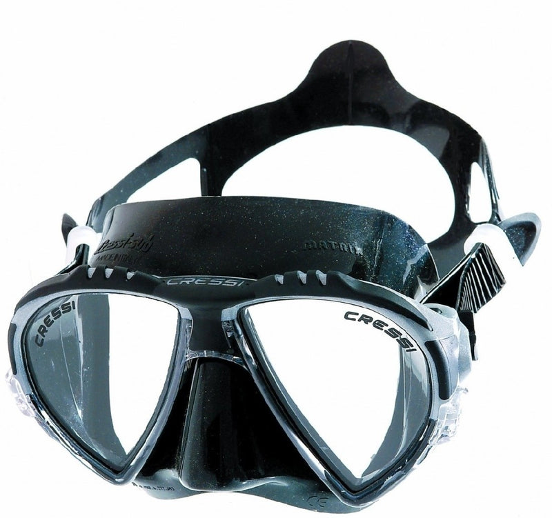 CRESSI MATRIX BLACK SILICONE MASK