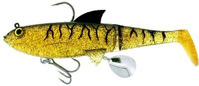 MOLIX SHAD SWIMBAIT LURES- (RIGGED)