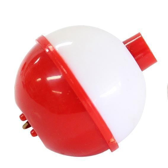SURE CATCH PLASTIC RED-WHITE FLOATS