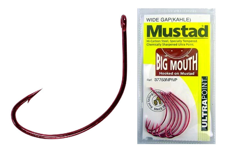 MUSTAD WIDE GAP (KAHLE) BIG MOUTH ULTRA POINT HOOKS