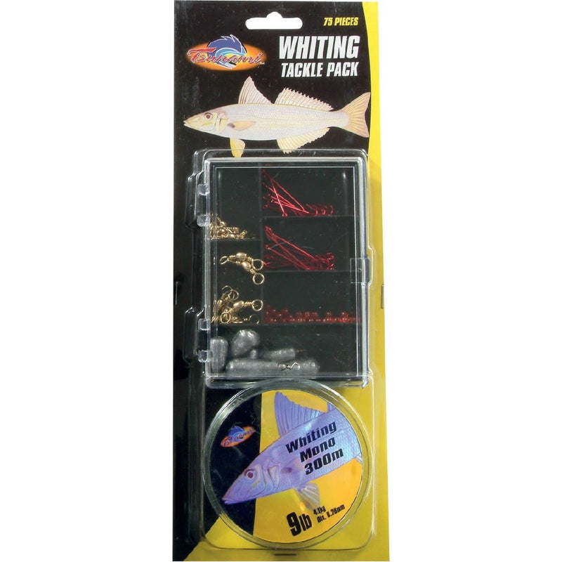 TSUNAMI WHITING TACKLE PACK 75 PIECES