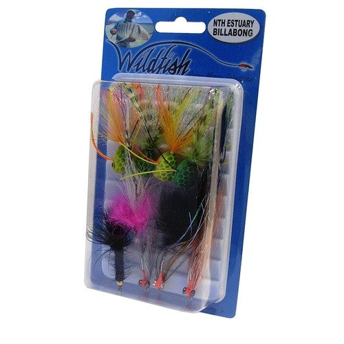 WILDFISH NTH ESTUARY BILLABONG FLY PACK