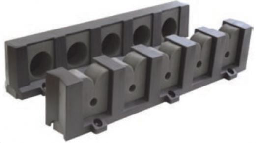 BLA VERTICAL 5 ROD STORAGE HOLDER