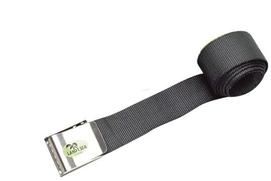 LAND AND SEA WEIGHT BELT STAINLESS STEEL BUCKLE
