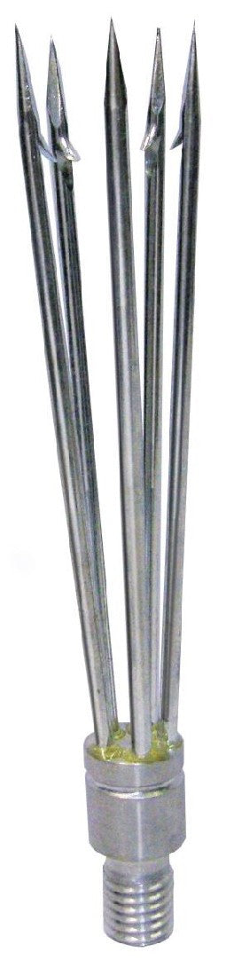 LAND & SEA ALLOY 5 BARB CLUSTER *MALE THREAD