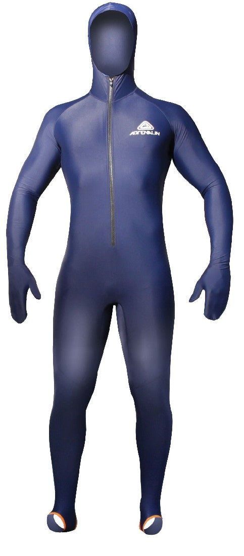 ADRENALINE LYCRA BODY SUIT WITH HOOD