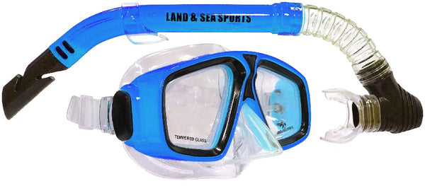 LAND & SEA DAYDREAM SILICONE MASK & SNORKEL SET