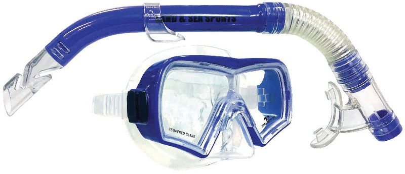 LAND & SEA HAYMAN SILICONE MASK & SNORKEL SET