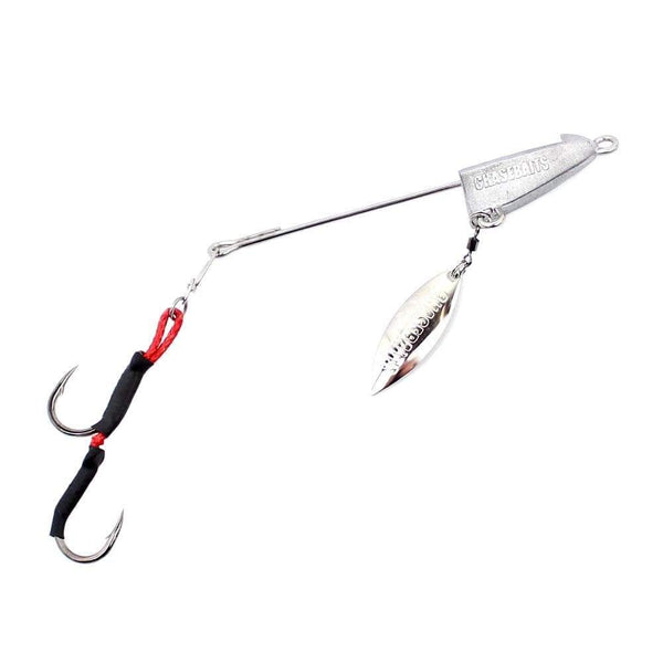 CHASEBAIT SQUID RIG 4/0 TWIN ASSIST HOOKS