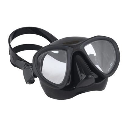 ROB ALLEN BLACK SILICONE SNAPPER DIVE MASK