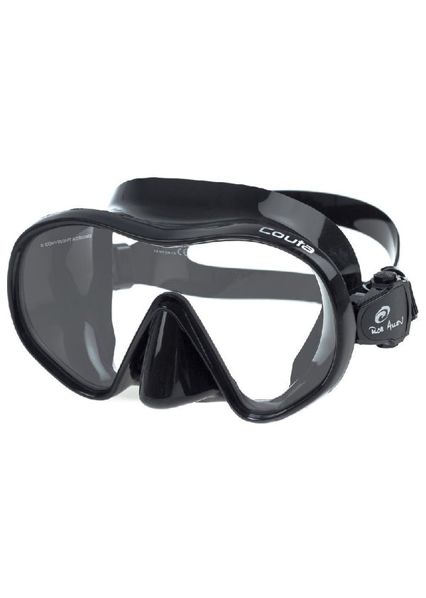 ROB ALLEN COUTA BLACK SILICON MASK