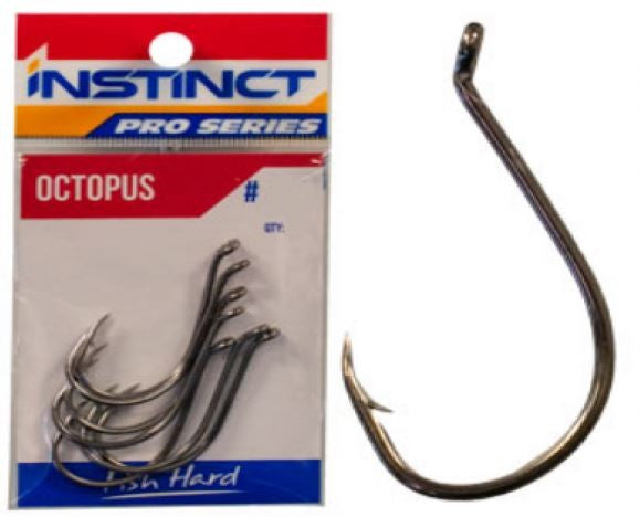 INSTINCT PRO SERIES OCTOPUS HOOKS - PRE PACKED