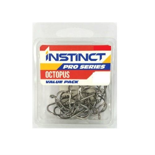 INSTINCT PRO SERIES OCTOPUS HOOKS - VALUE PACK