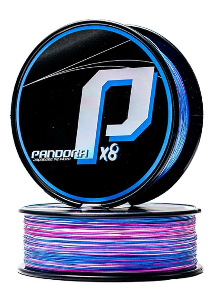 NOMAD PANDORA X8 BRAID- MULTI COLOUR