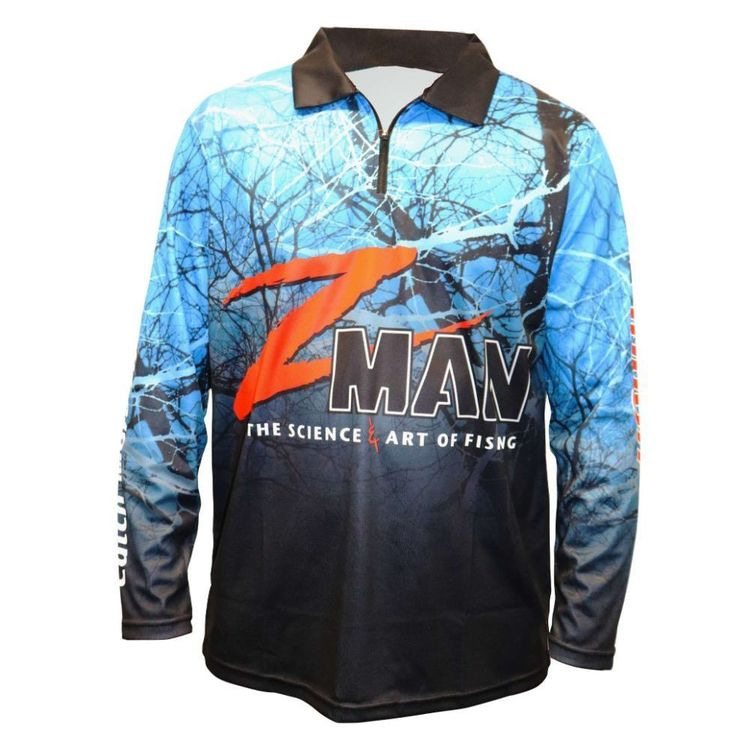 ZMAN PRO TOURNAMENT FISHING SUN SHIRT