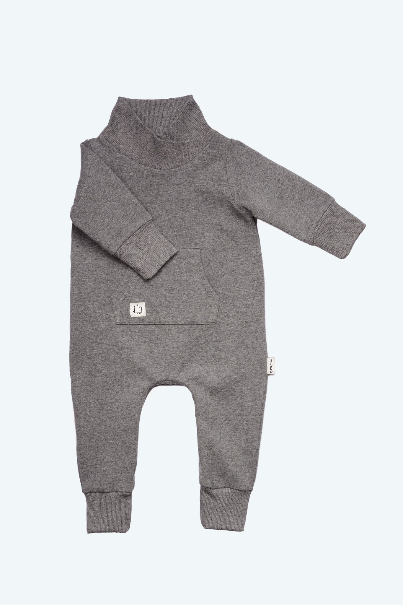 Turtle Suit - Stone - HuRo Kids Clothing