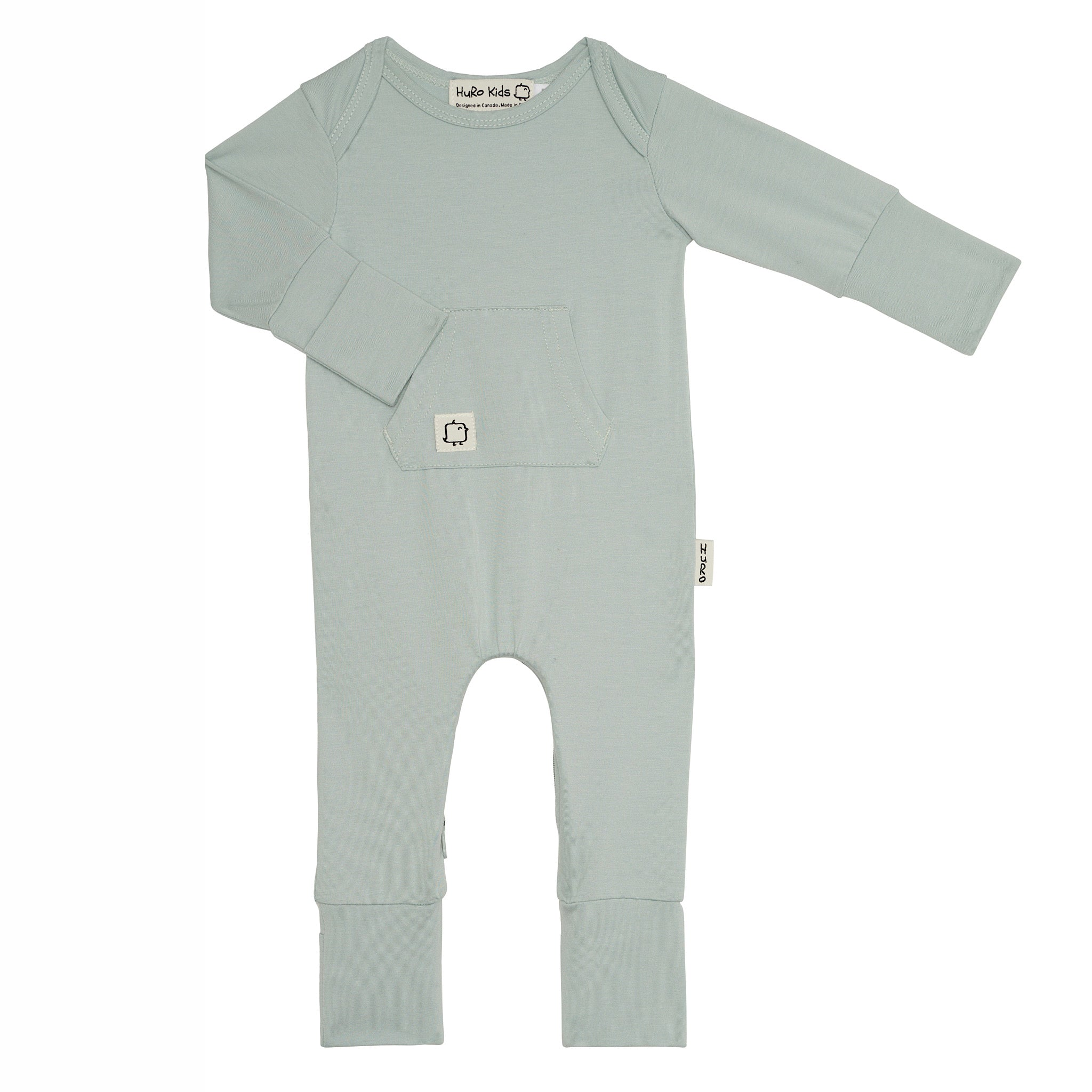 New Perfect Onesie -Sky - HuRo Kids Clothing