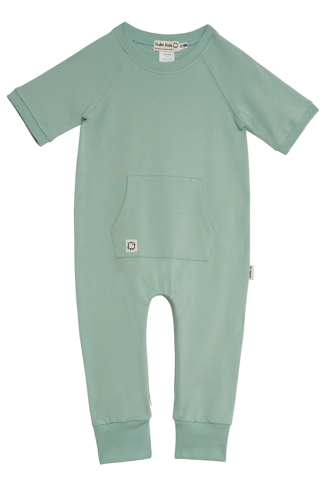 Short Sleeve Romper - Bora (Pre-Order /Ships after April 5th) - HuRo Kids Clothing