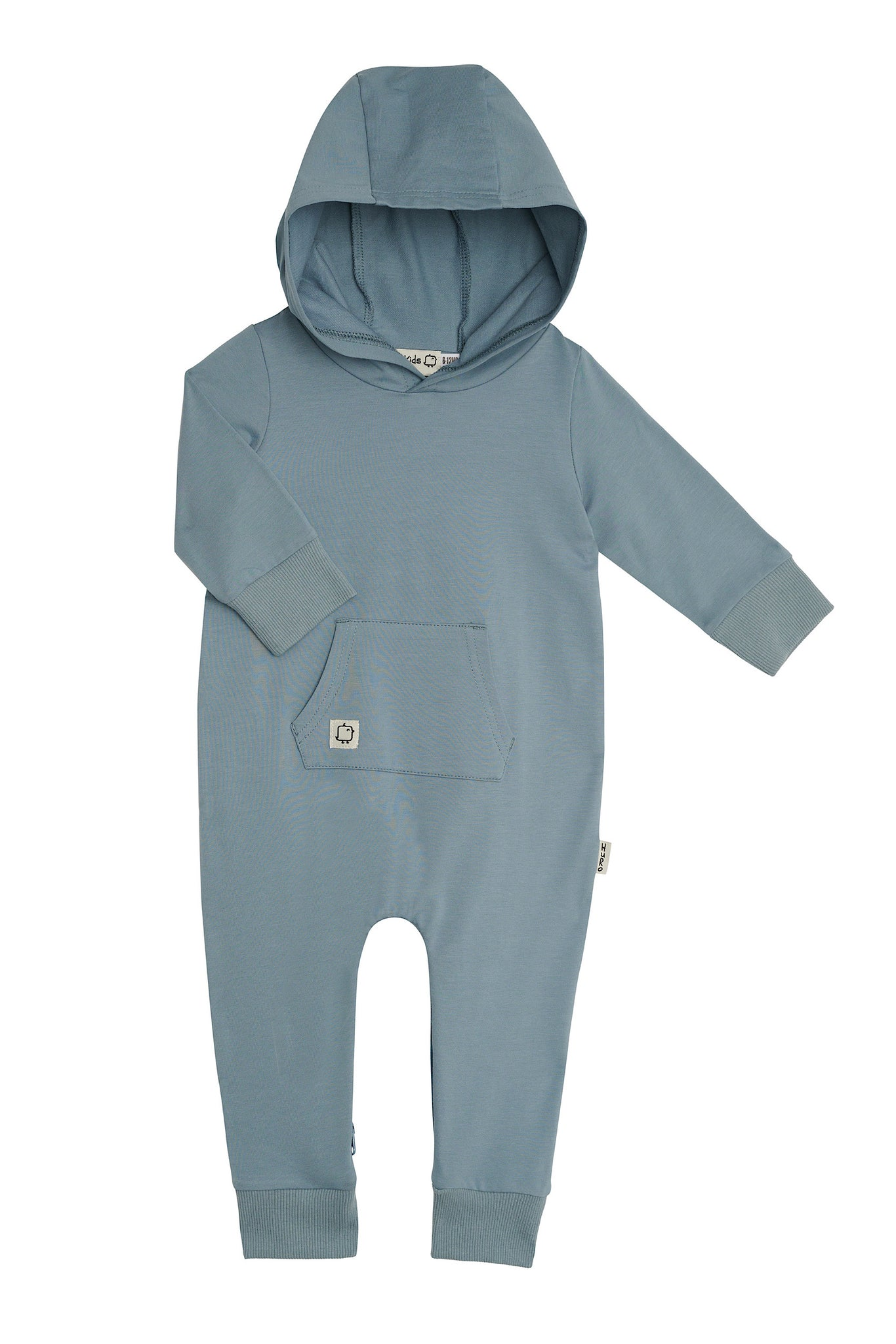 Hooded Romper - Aero - HuRo Kids Clothing