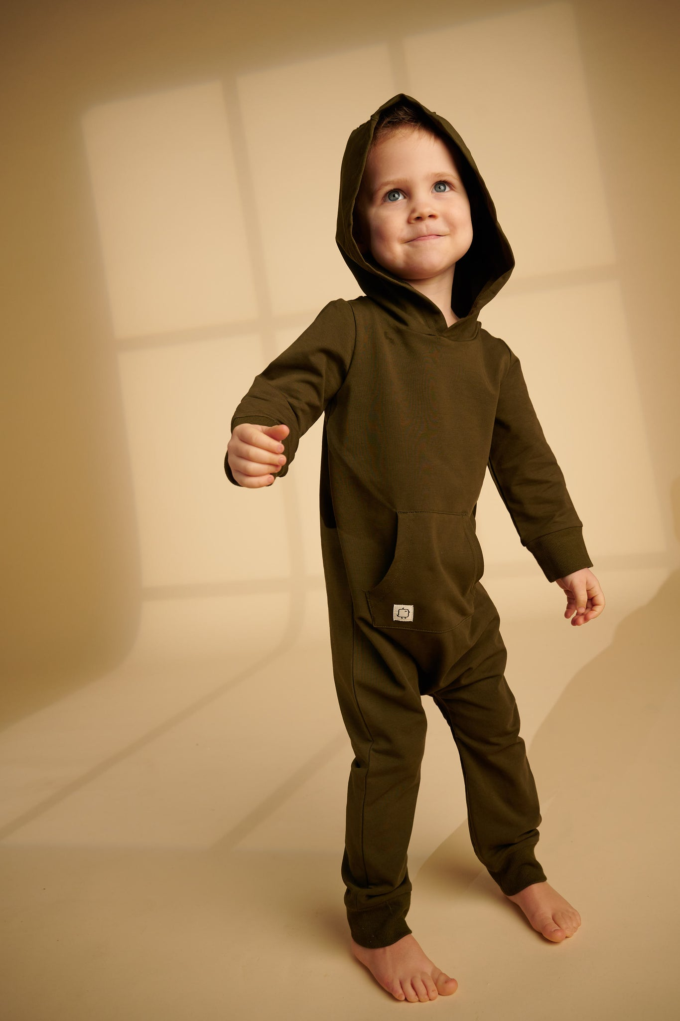 Hooded Romper - HuRo Kids Clothing