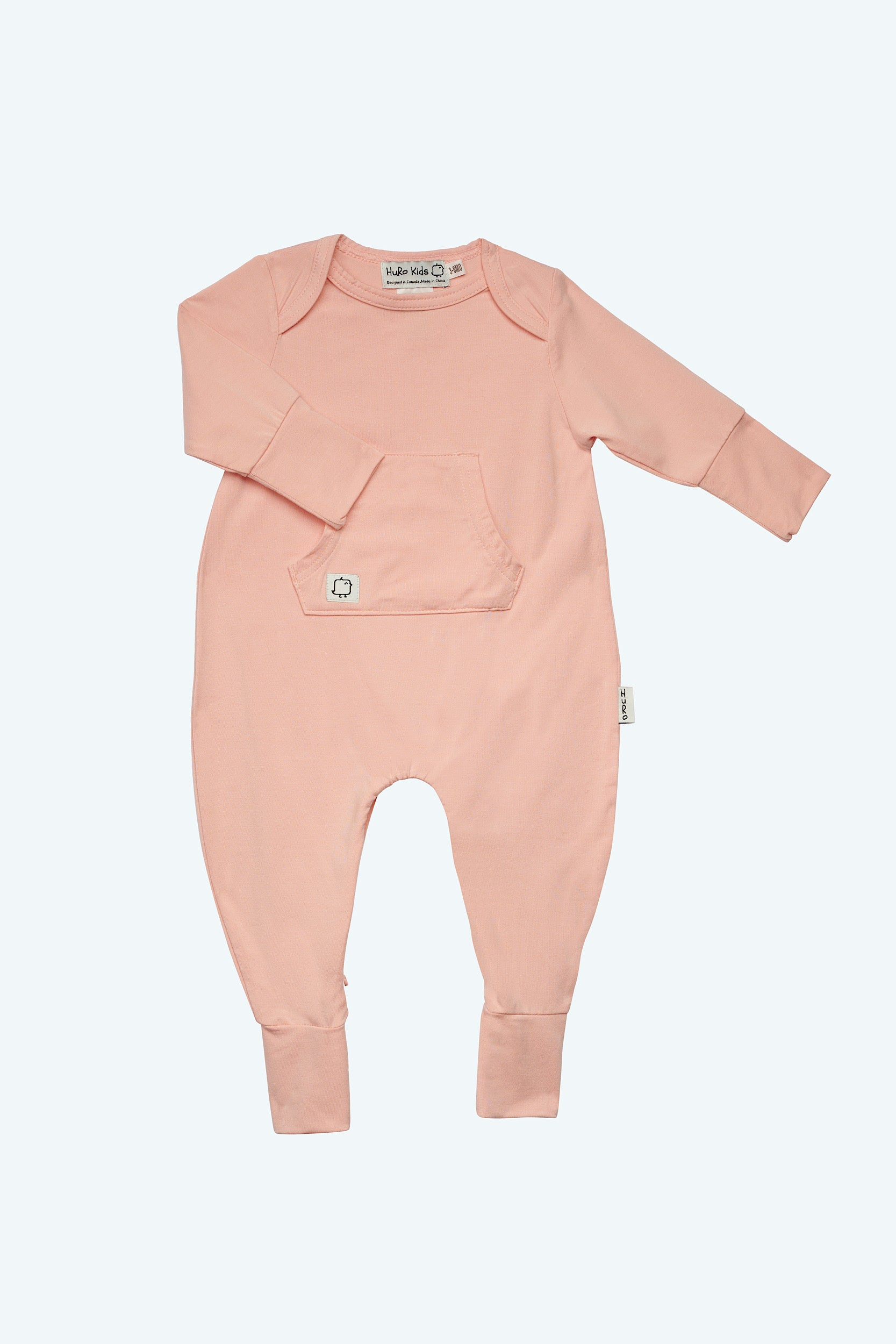 Perfect Onesie - Blush - HuRo Kids Clothing