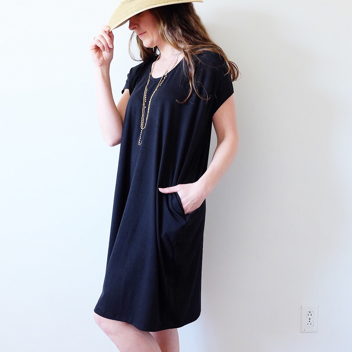 Cocoon Pocket Dress
