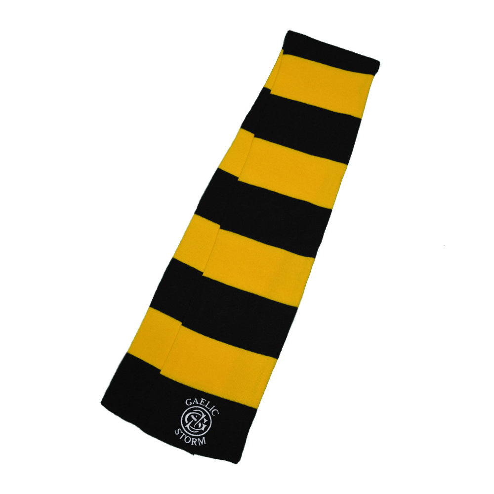 Black and Yellow Scarves