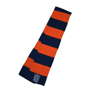 Blue and Orange Scarves