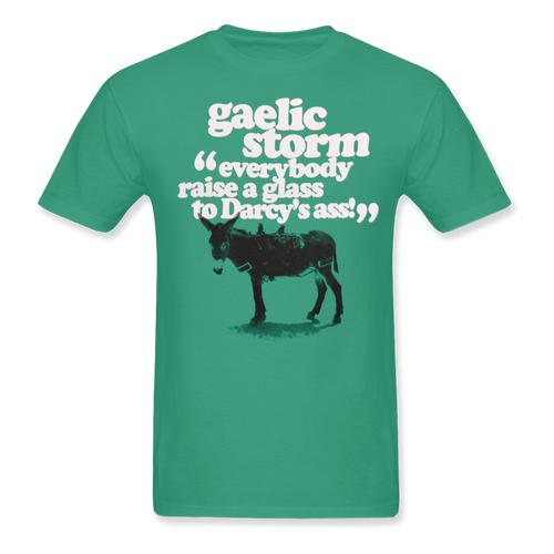 Everybody Raise a Glass Green Tee