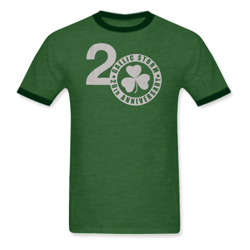 Mens Green 20th Anniversary Tee