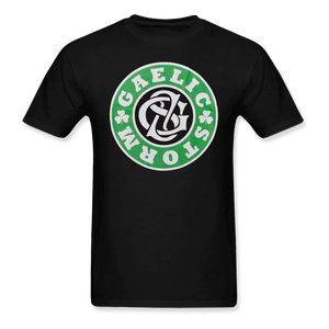 Gaelic Storm Green and White Logo Tee