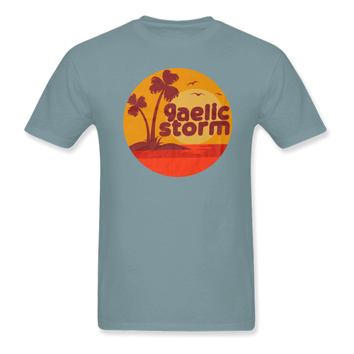 Light Blue with Island Logo TShirt