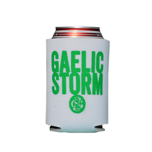Load image into Gallery viewer, White Gaelic Storm Full Irish Drink Koozie
