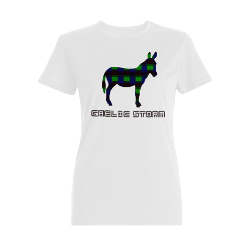 Woman's White Donkey Tee